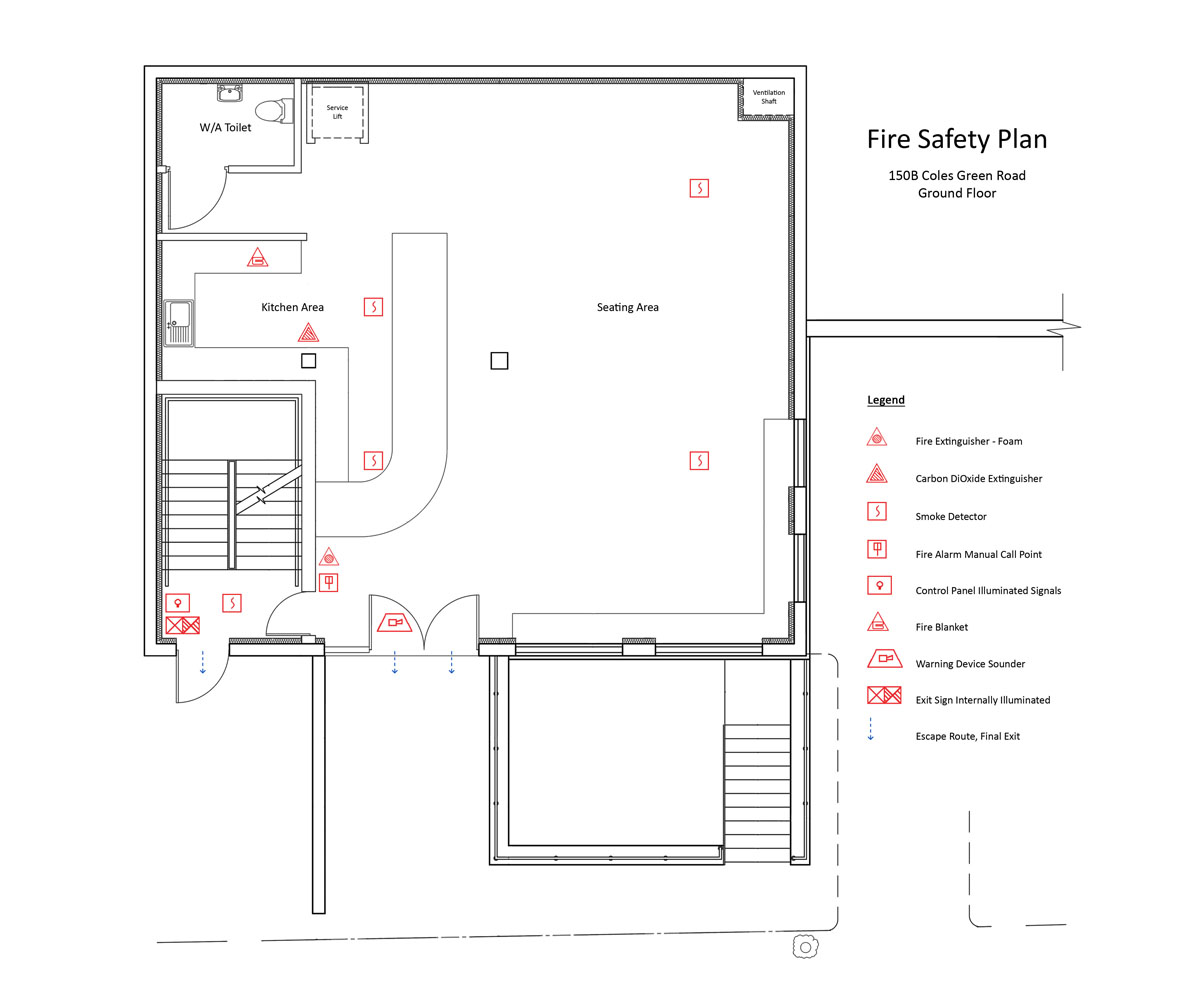 100 evacuation floor plan network layout floor for Fire plans